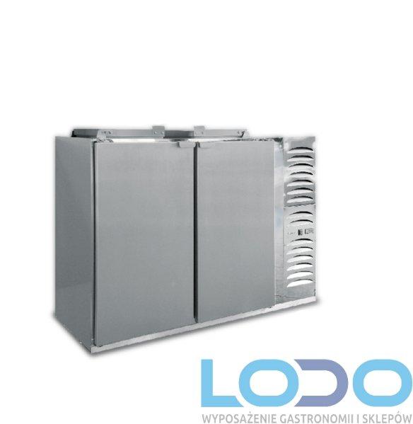 SCHŁADZARKA NA ODPADY DORA METAL BLO-2120-120L (dno nieizolowane)  2x120 litrów