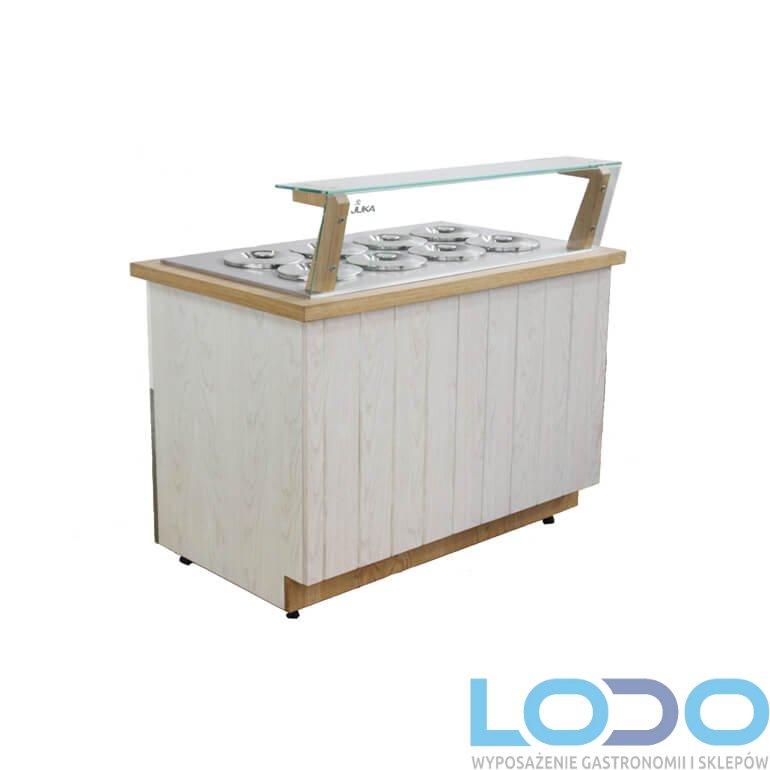 KONSERWATOR DO LODÓW JUKA MALAGA ICE wym. 1250x770x1090 mm- 8 TUB