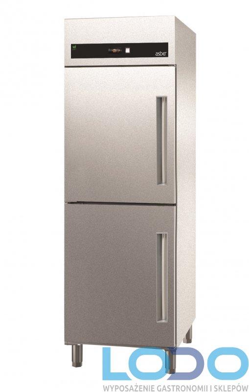 SZAFA CHŁODNICZA 2-drzwiowa ASBER 700l. ECP-G-702 HC galwanizowana Gn2/1
