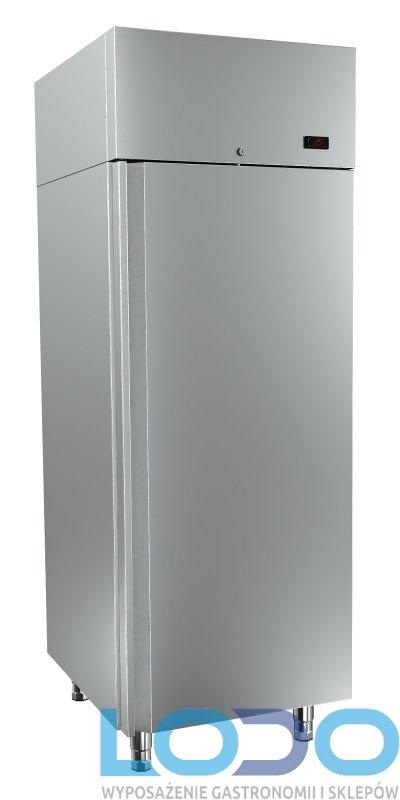 SZAFA MROŹNICZA NIERDZEWNA DORA METAL DM-92107 WYM.700/860/2000mm POJ.700L.