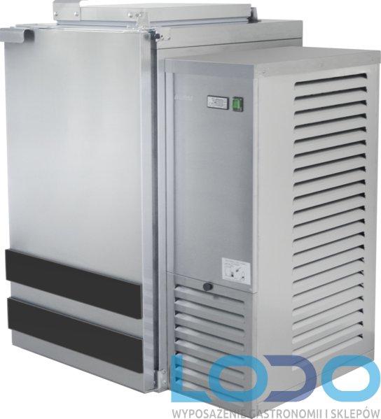SCHŁADZARKA NA ODPADY DORA METAL BLO-1120-120L (dno nieizolowane) 1x 120 litrów