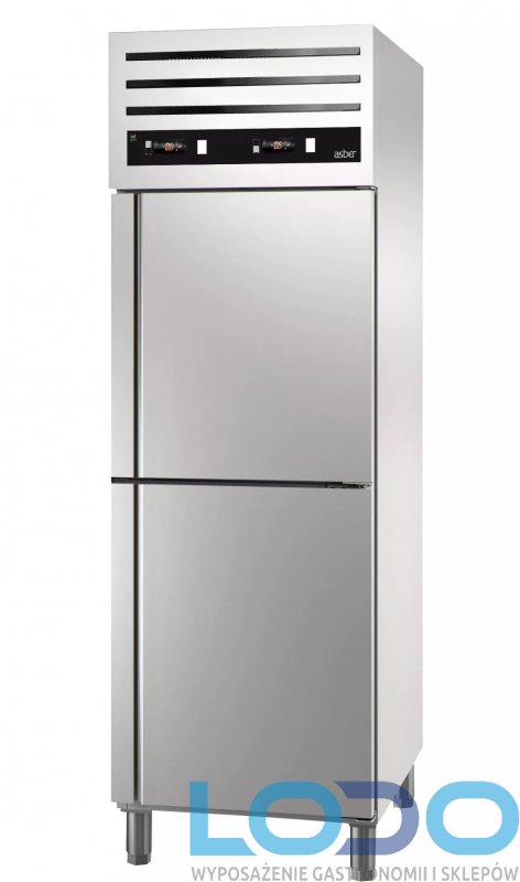 Szafa chłodniczo-mroźnicza Asber GCPMZ-702 dwutemperaturowa 700L GN 2/1