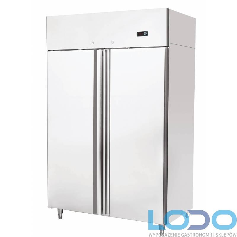 Szafa chłodnicza dwudrzwiowa nierdzewna Redfox CN 900 wym. 1200x745x1950, poj. 900 l