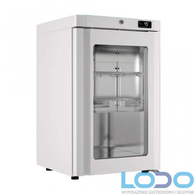 Szafa chłodnicza laboratoryjna przeszklona Bolarus SLC 100 glass, wym. 650x618x853 mm, poj. 100 l