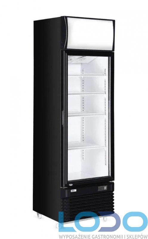 Witryna chłodnicza z podświetlanym panelem 360 L Hendi, wym.620x669x1965 mm