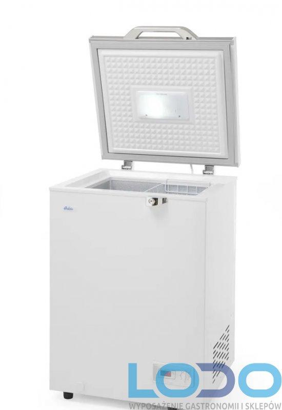 Zamrażarka gastronomiczna skrzyniowa Hendi energooszczędna A+, poj. 93 l, wym.574x608x845 mm