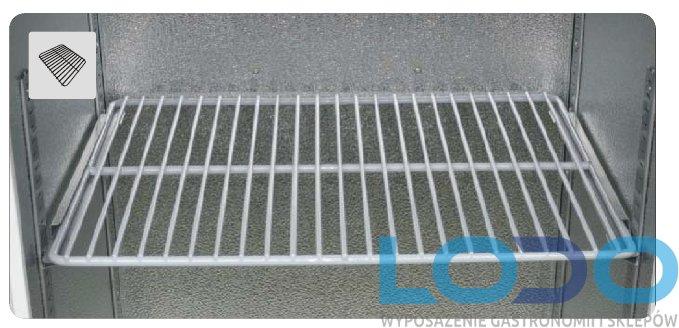 Półka druciana z kompletem prowadnic do chłodziarek farmaceutycznych CHL 700/1200 Pol-eko