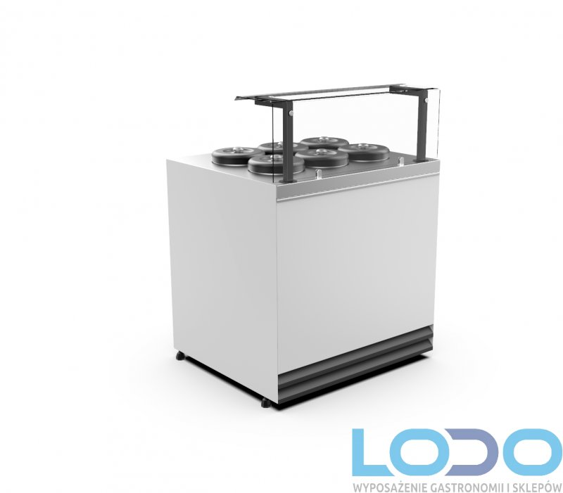 Dystrybutor do lodów Apollo 915x800x1480 mm (6 SMAKÓW)