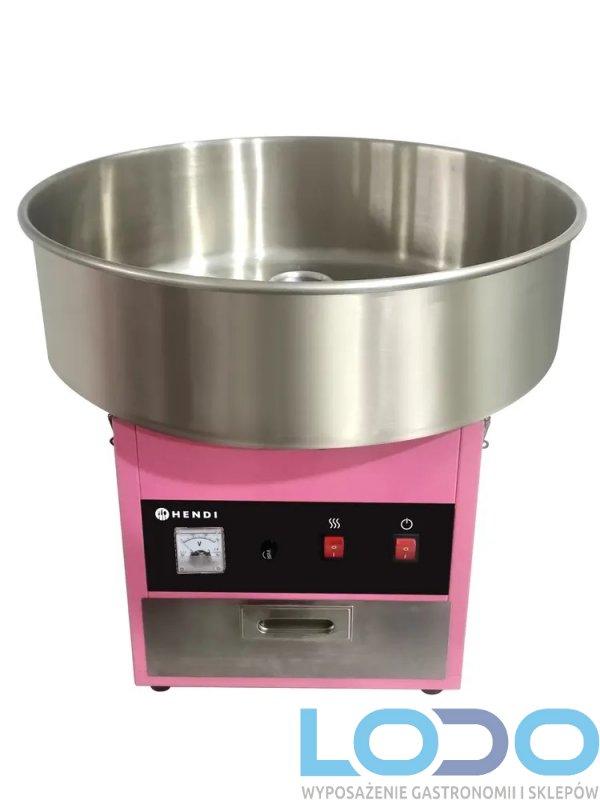 Urządzenie do waty cukrowej Hendi z misą śr. 520 mm