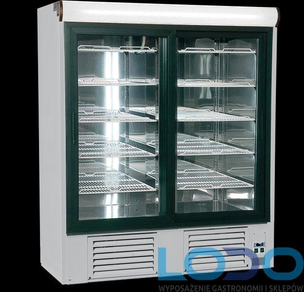 SZAFA CHŁODNICZA PRZESZKLONA OLA 2 GASTRO OL100.2/GASTRO 1400x880X2000mm