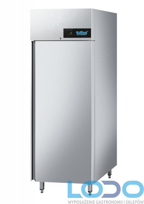 SZAFA MROŹNICZA NIERDZEWNA PREMIUM RILLING 650L  695X810X2020mm, 7,65 kWh/24h